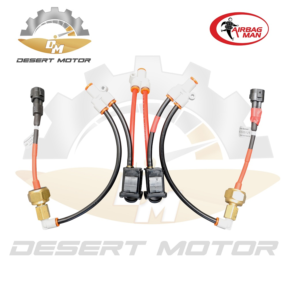 Airbag man internal control system
