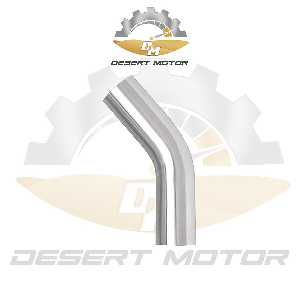 Aluminum Pipe 45 angle 2.5inch