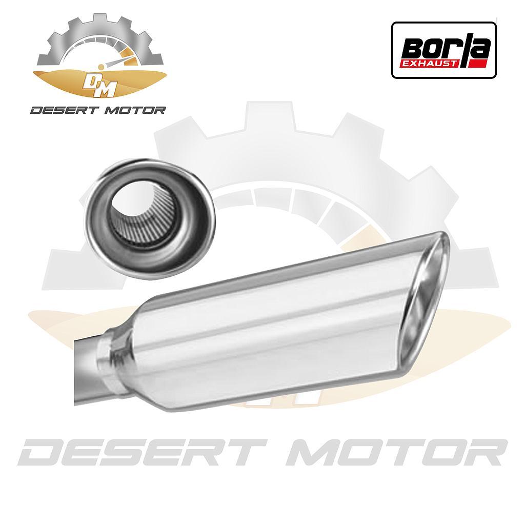 Borla tips 2.25-4 inch round rol