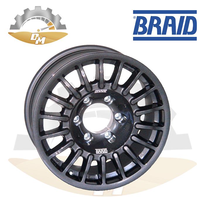 "BRAID Nissan 16"" Gray"