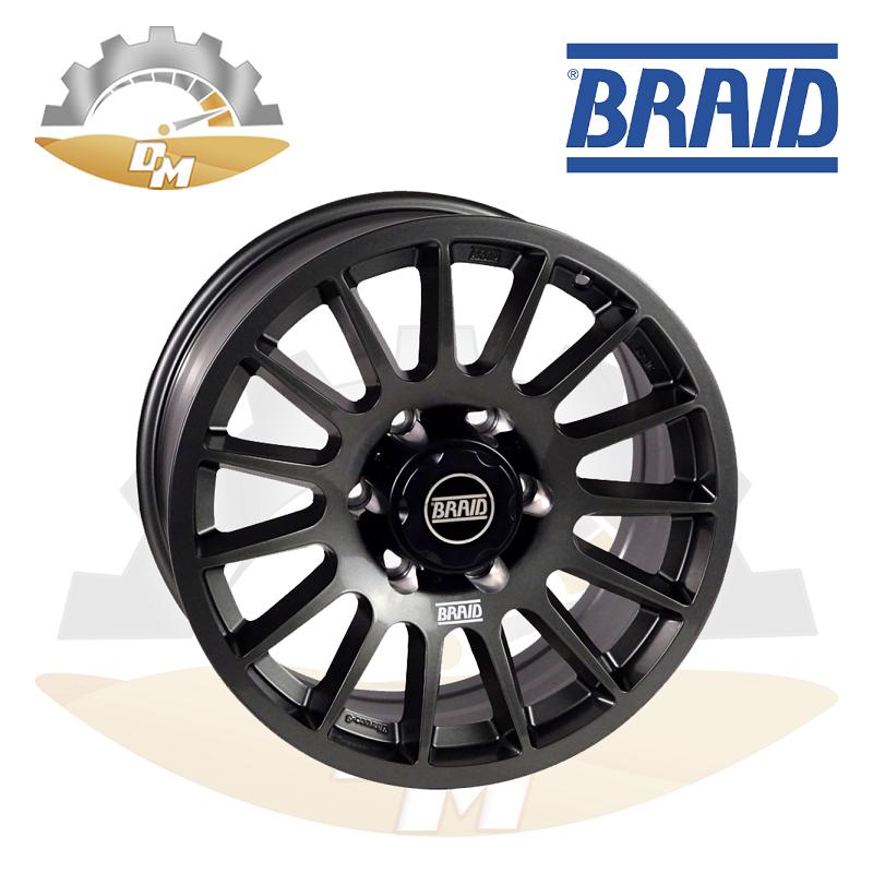 "Braid Nissan Vtc 17"" Gray"