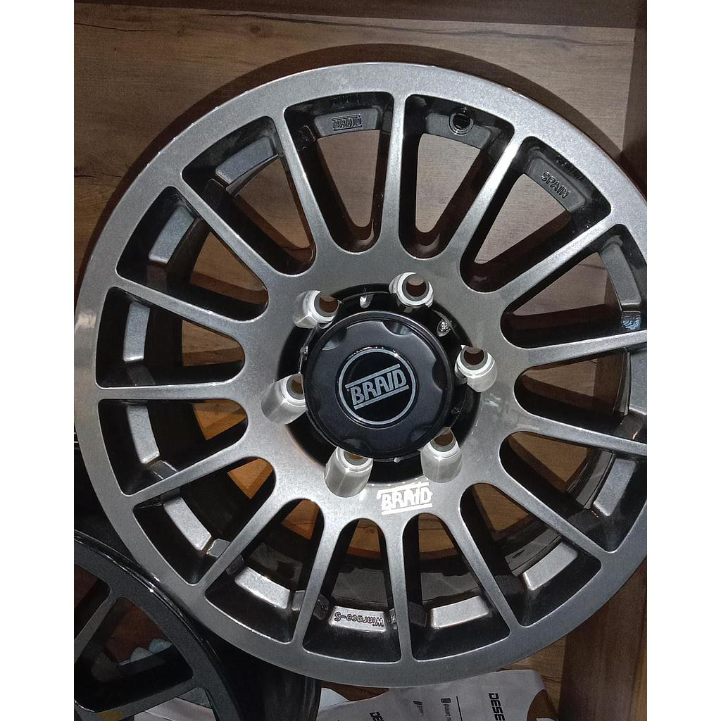 "BRAID Nissan VTC 17"" Gray"