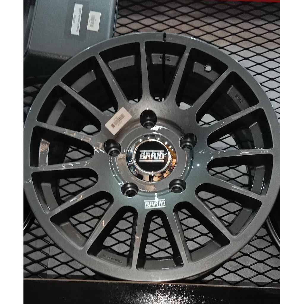 "BRAID Toyota  17"" Gray New"