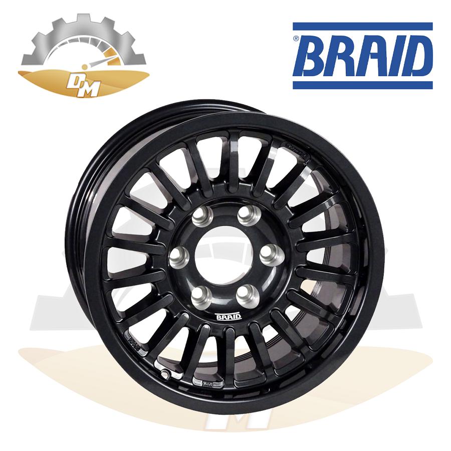 "BRAID Toyota w/cover 17"" Black Old"
