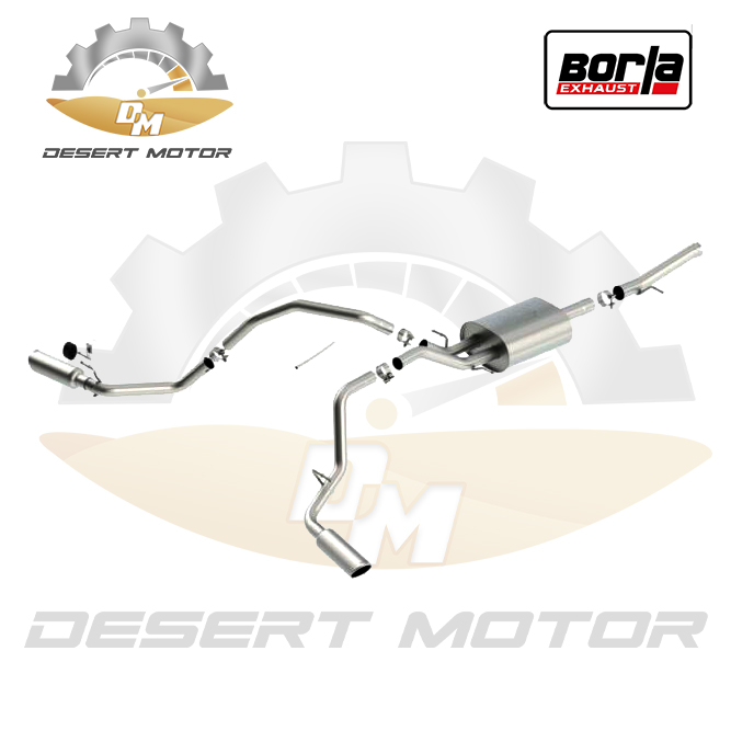 Catback Borla ATAK Sierra single 14-18
