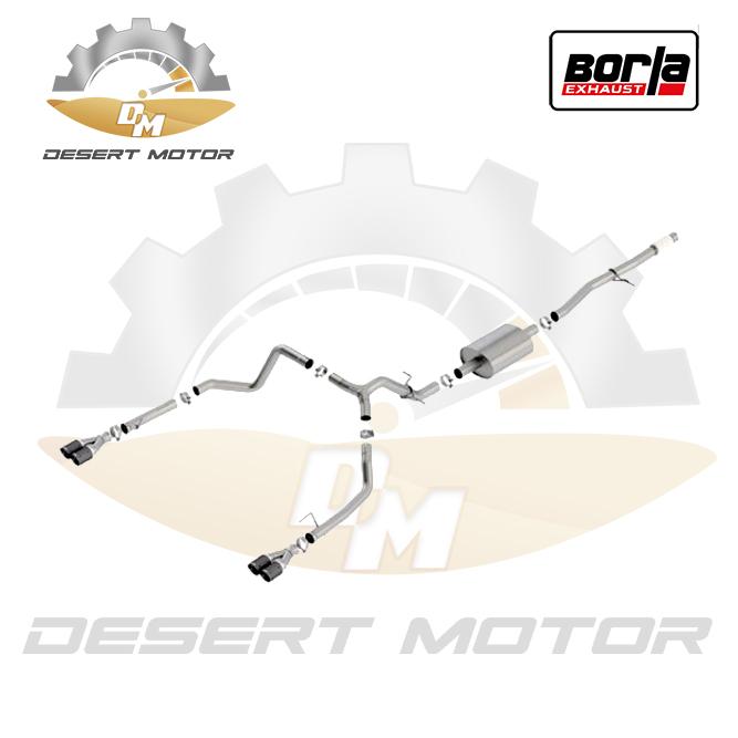 Catback Borla S-type 4 door 5.3 19+ Dual split carbon