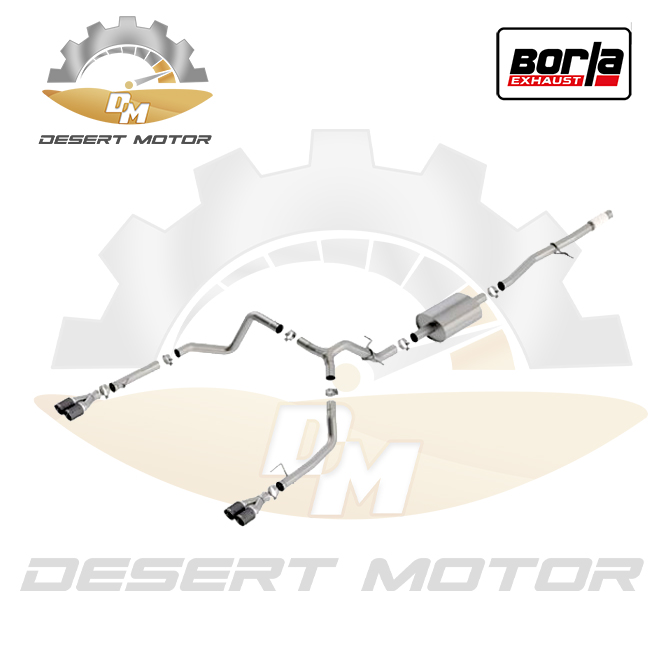 Catback Borla S-type 4 door 5.3 19+ Dual split carbon