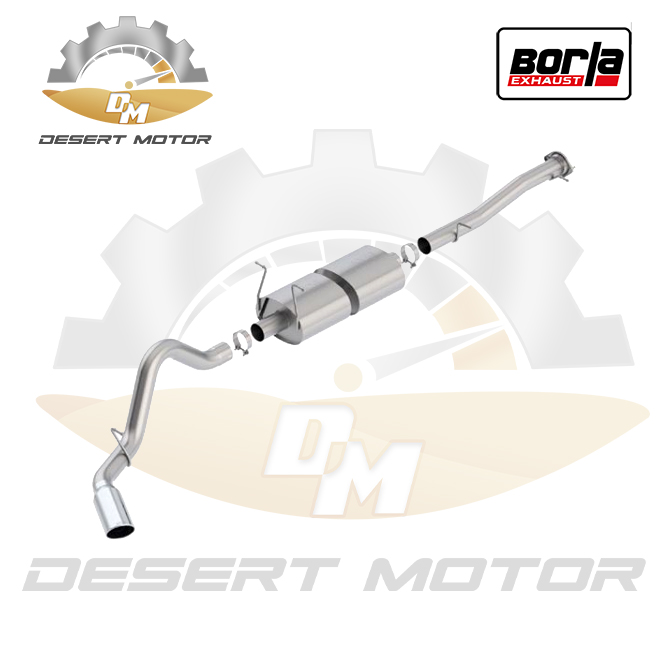 Catback Borla S-TYPE GMC HD 15-19