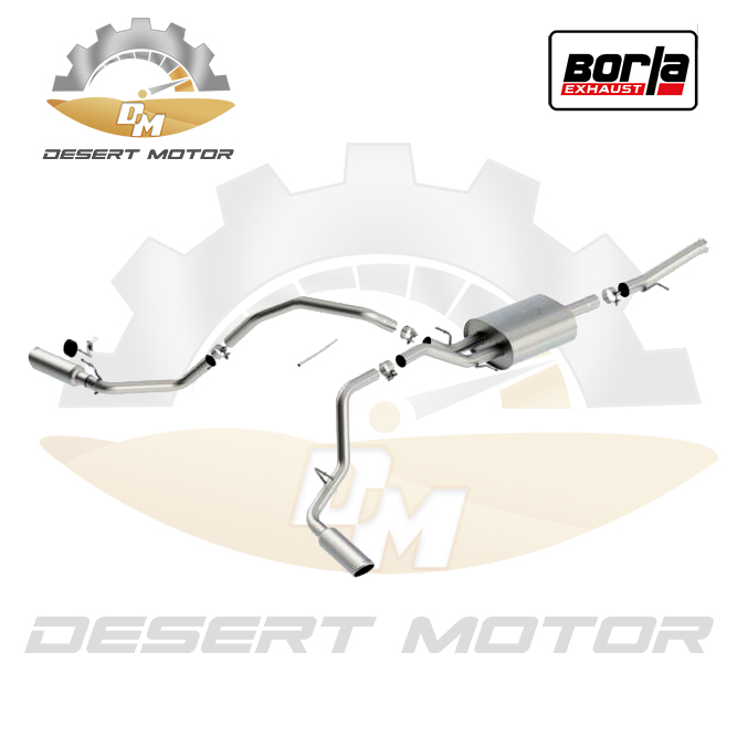 Catback Borla S-TYPE Sierra single 14-18