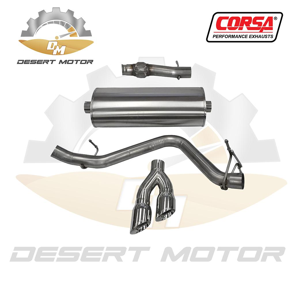 Catback corsa sport Sierra single 14-18