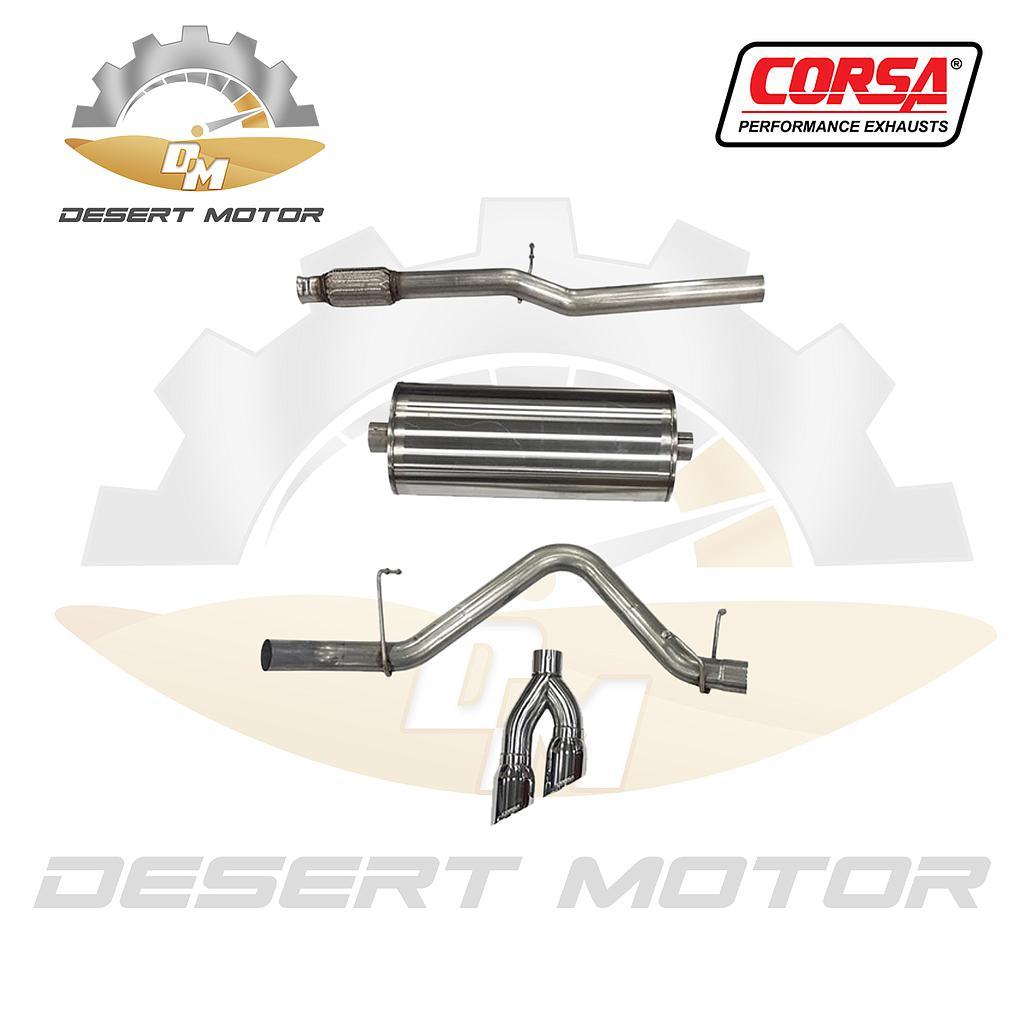 Catback corsa sport Sierra single 19+