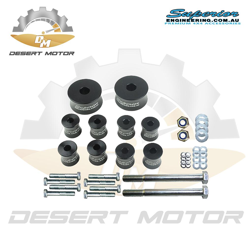 Diff drop Toyota LC200 25mm