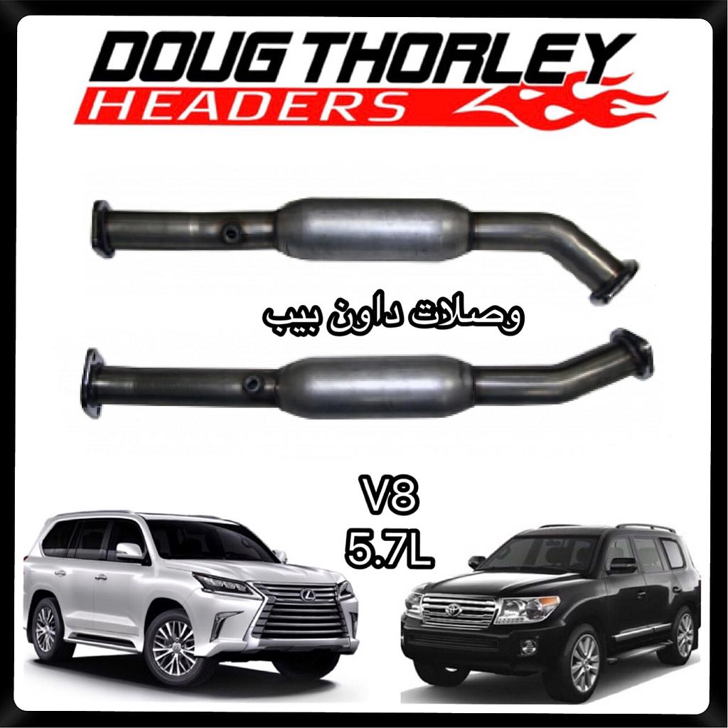 Doug thorly downpipe Toyota 5.7