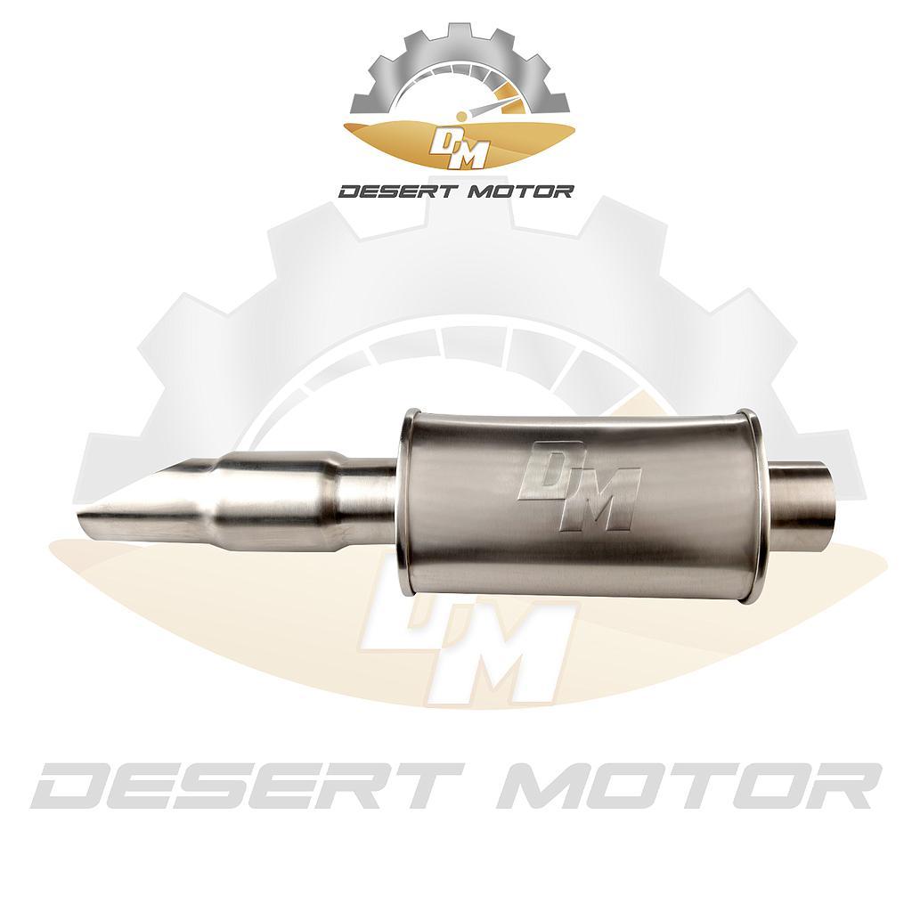 End muffler VTC design