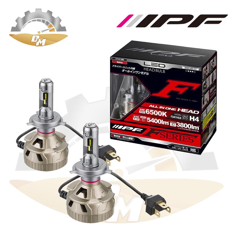 IPF H4 (9003) 5400lm