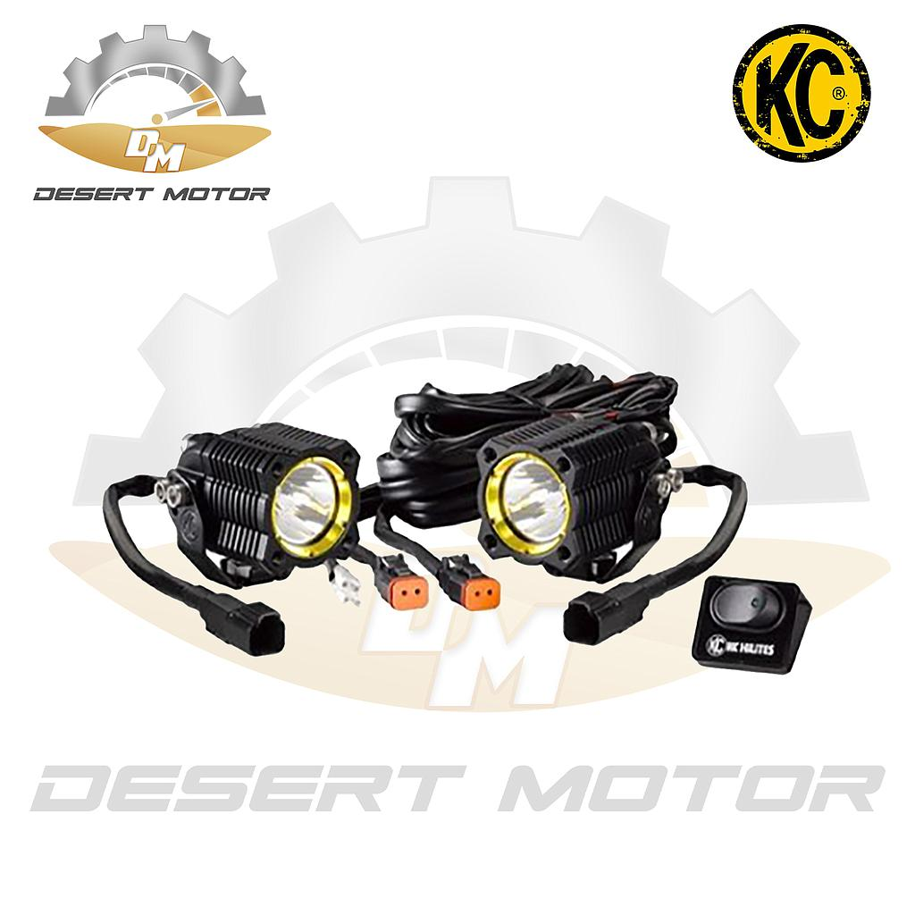 Kc Light Flex Spot Dual 2pcs