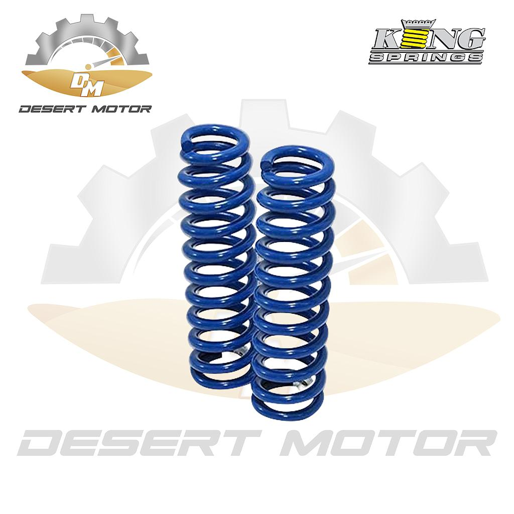 King springs Blue F Toyota LC200