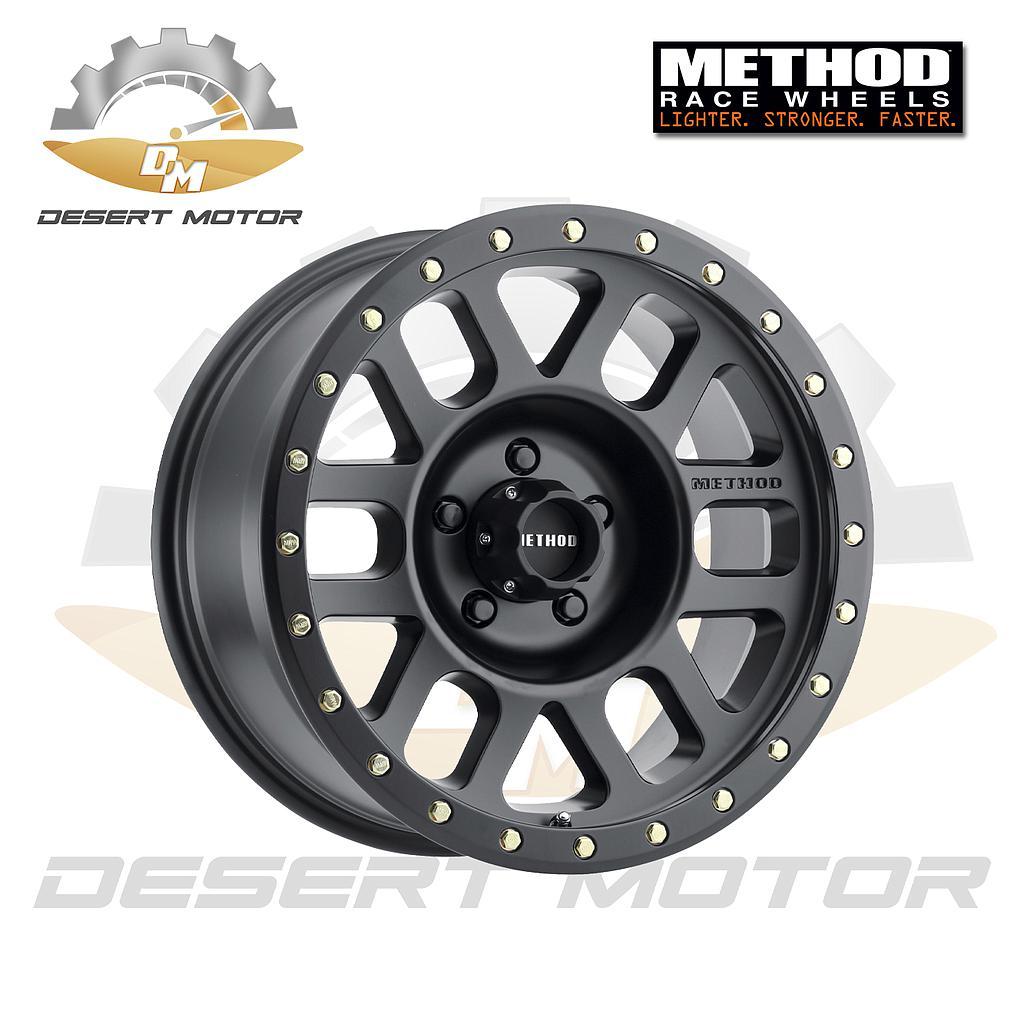 METHOD Grid Toyota 309 black 17x8.5, 5x150