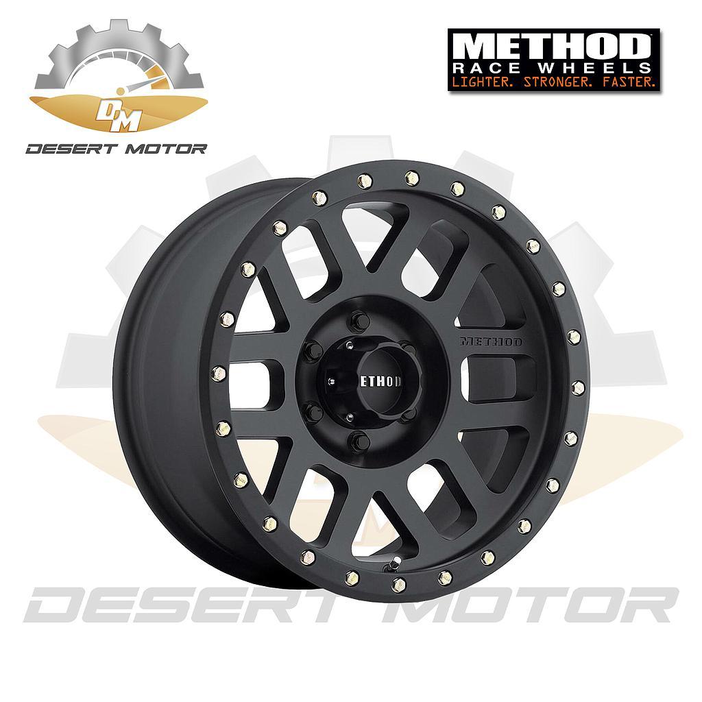 METHOD Grid GMC HD 309 Black 17x8.5, 8x180