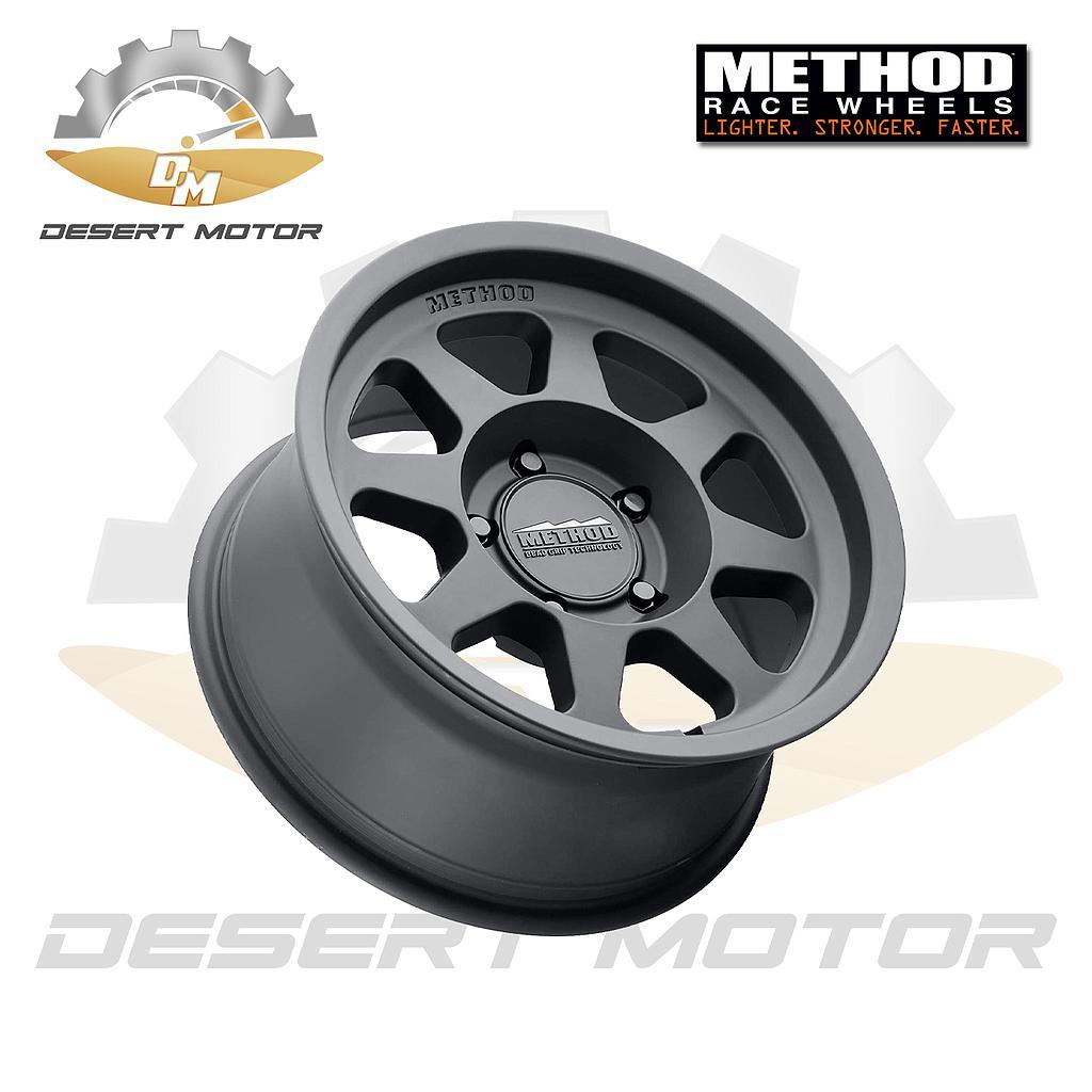 Method 701 Toyota Black 17x8.5, 5x150