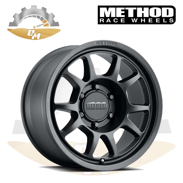 METHOD 702 GMC Black 17x8.5, 6x139.7