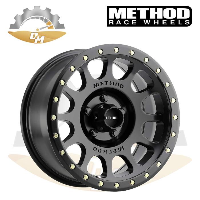 METHOD NV Toyota black 17x8.5, 5x150