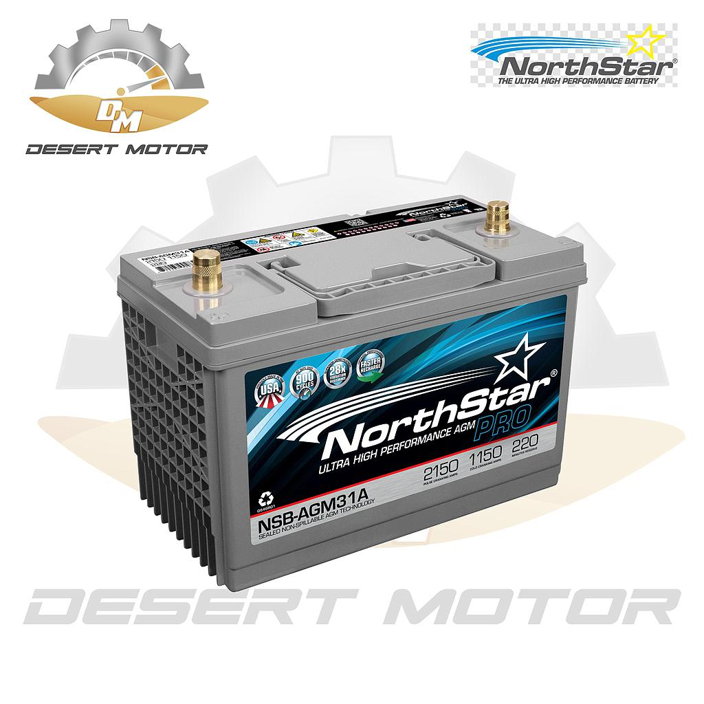 Northstar battery AGM31A