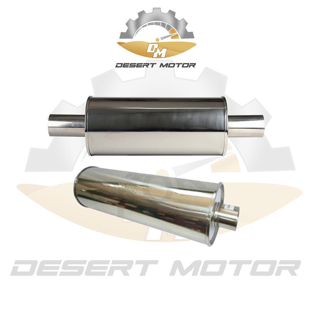 Off-road muffler long 3 inch