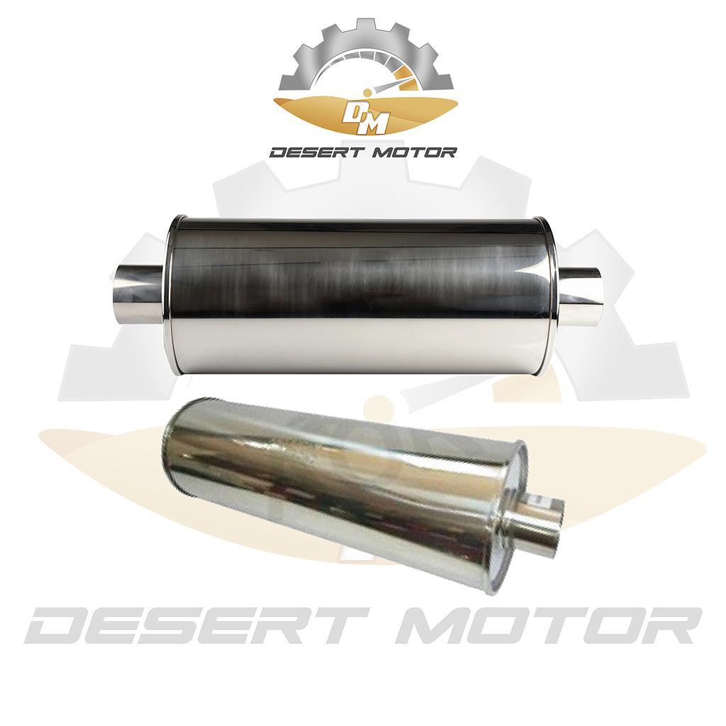 Off-road muffler short 3 inch