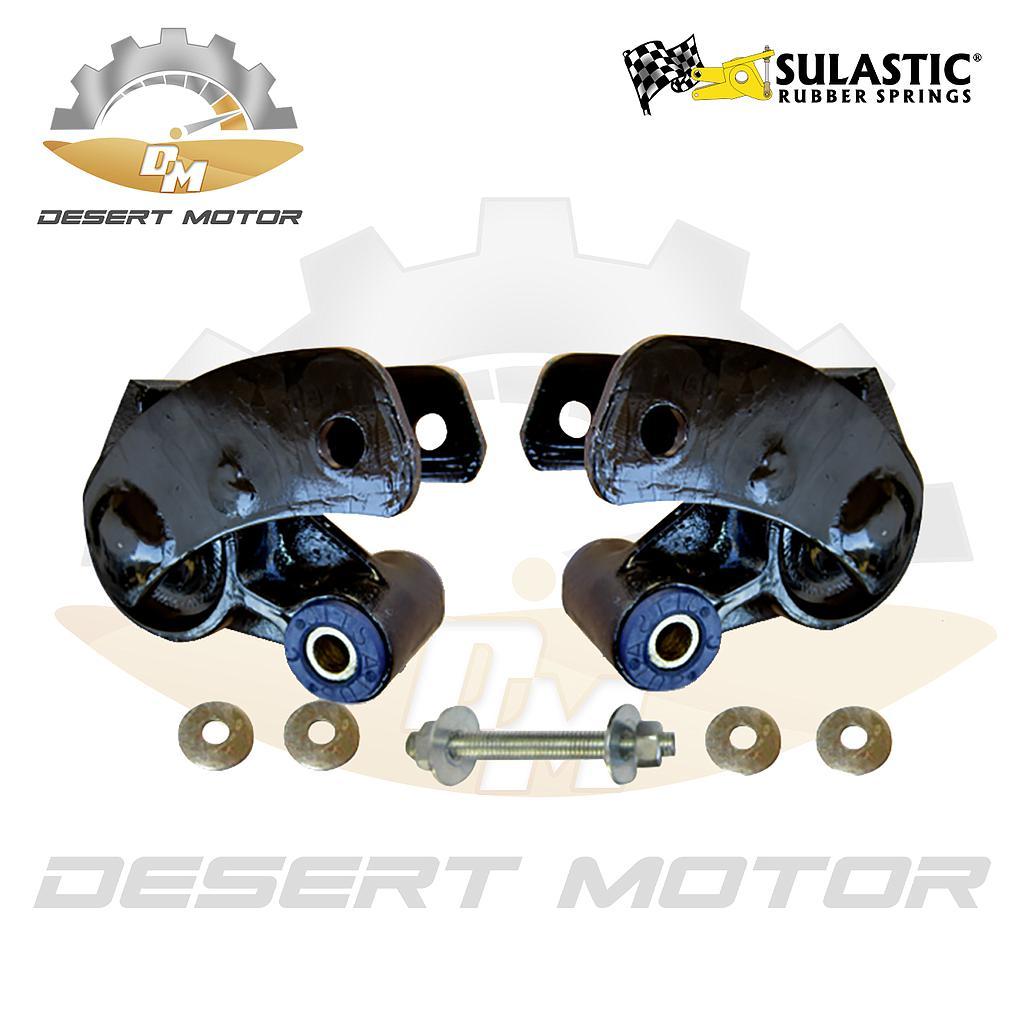 Sulastic shackles Rear GMC sierra 14-18