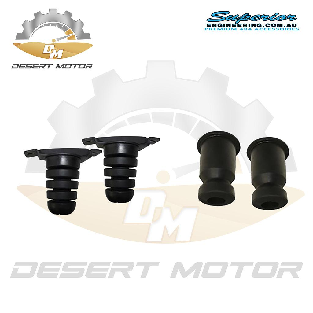 Superior bump stop rubber Nissan Patrol Front