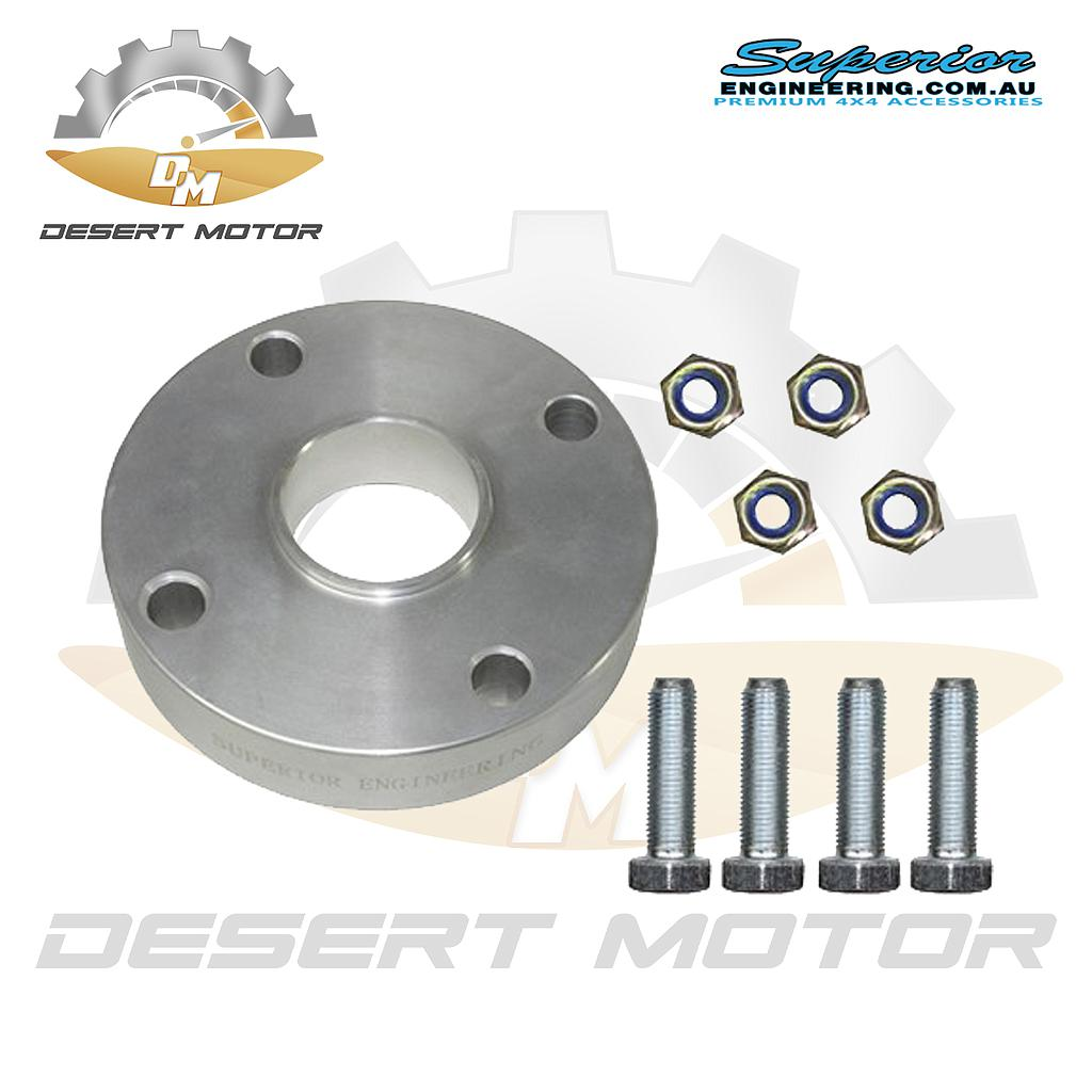 Superior shaft Spacer  Toyota LC200  Front