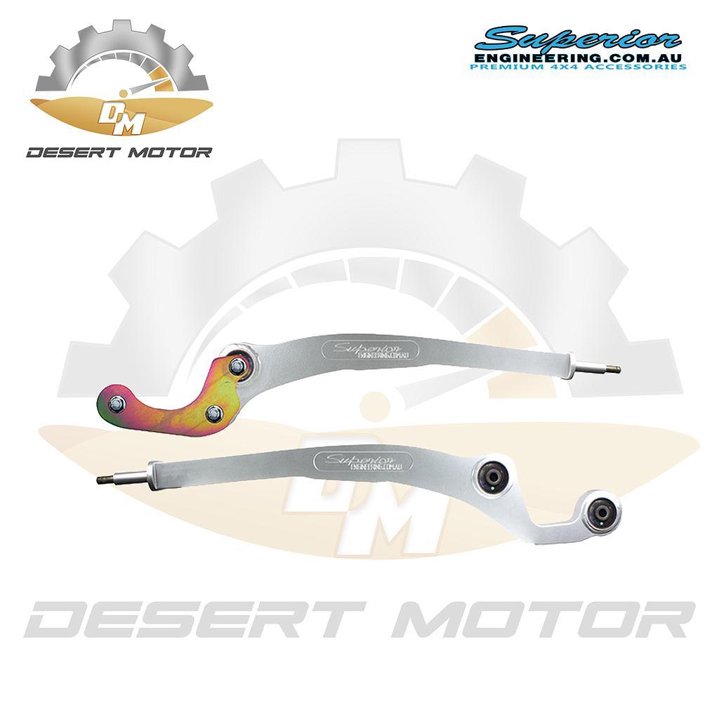 Superior Superflex Radius Arms Y61 w/ mushroom bushing ABS