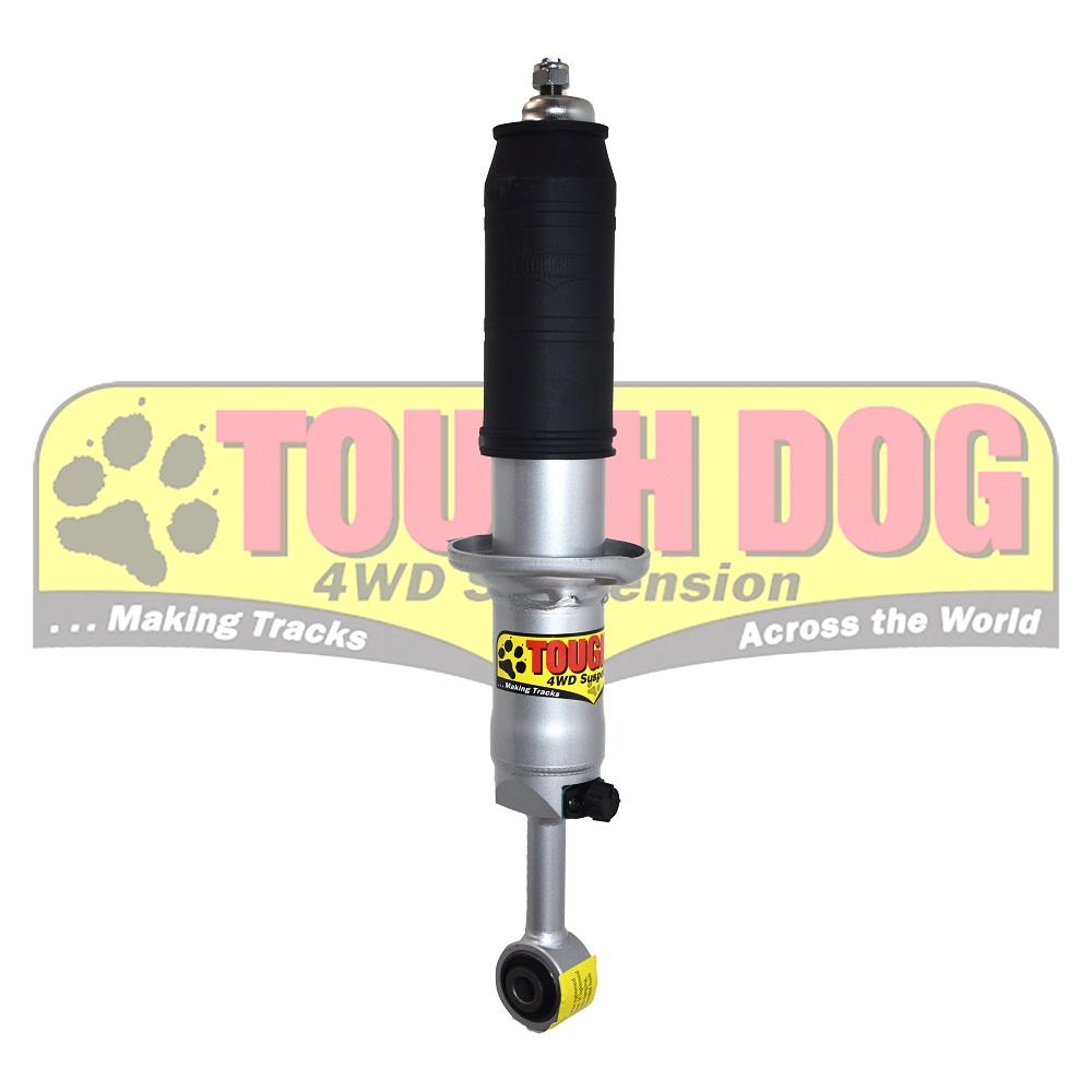 Tough dog shocks Nissan Y62 adj F
