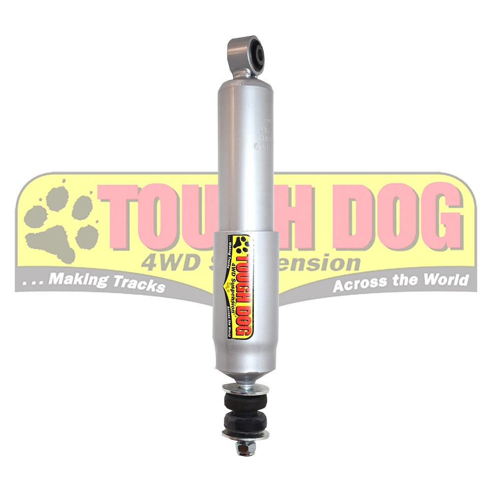 Tough dog shocks Toyota LC100 F