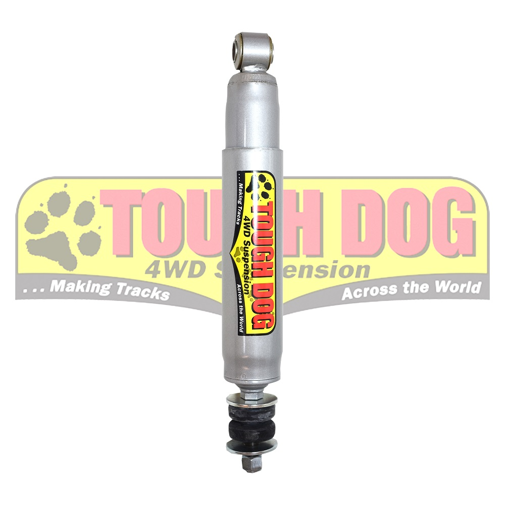 Tough dog shocks Toyota LC100 R