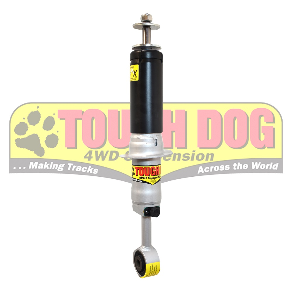 Tough dog shocks Toyota LC200 adj F