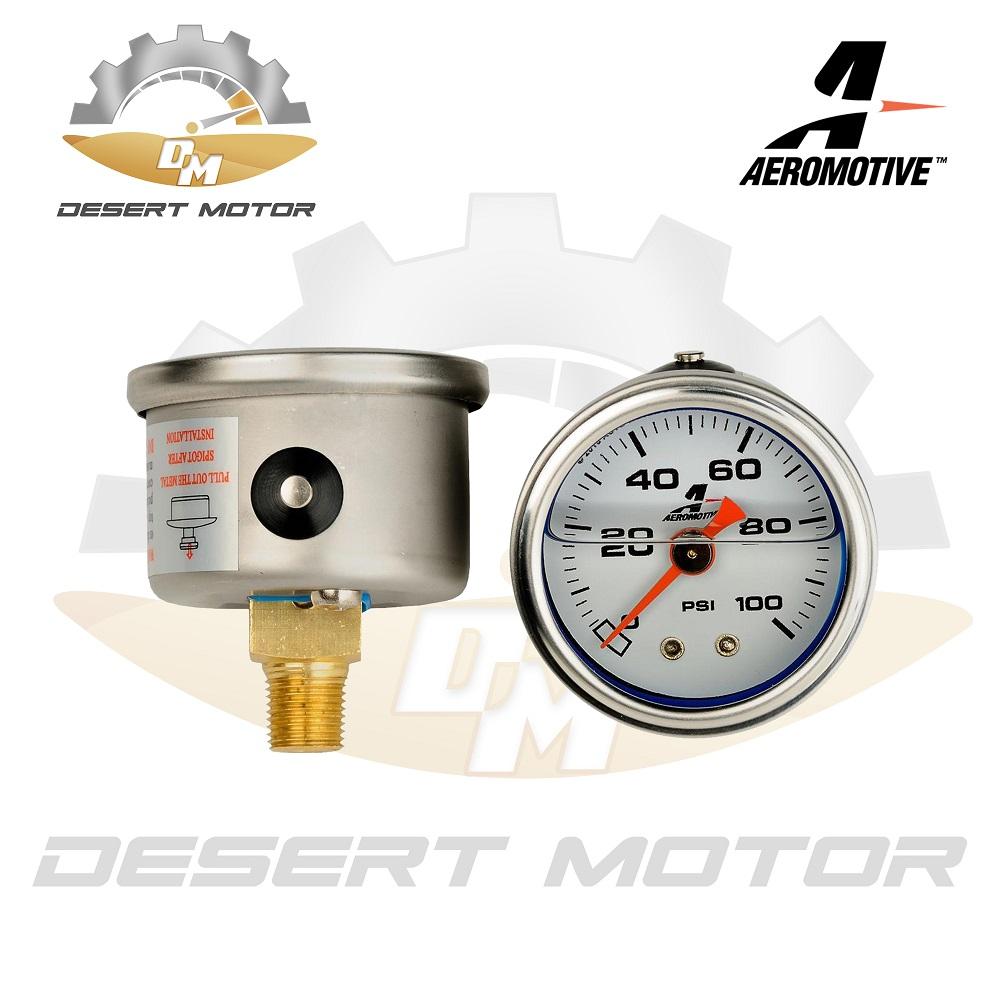 Aeromotive Fuel Pressure gauge 0-100PSI