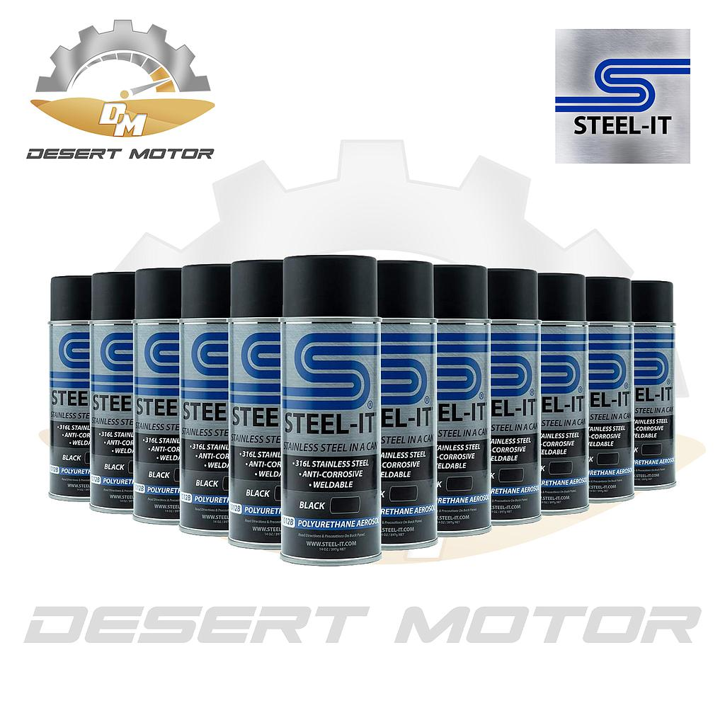 Steel-it Black spray can