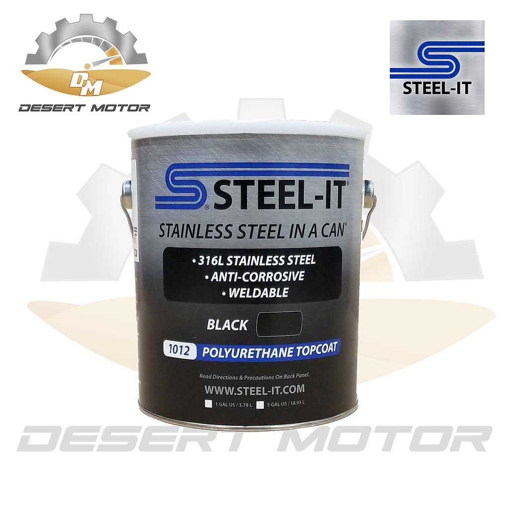 Steel-It Black Gallon