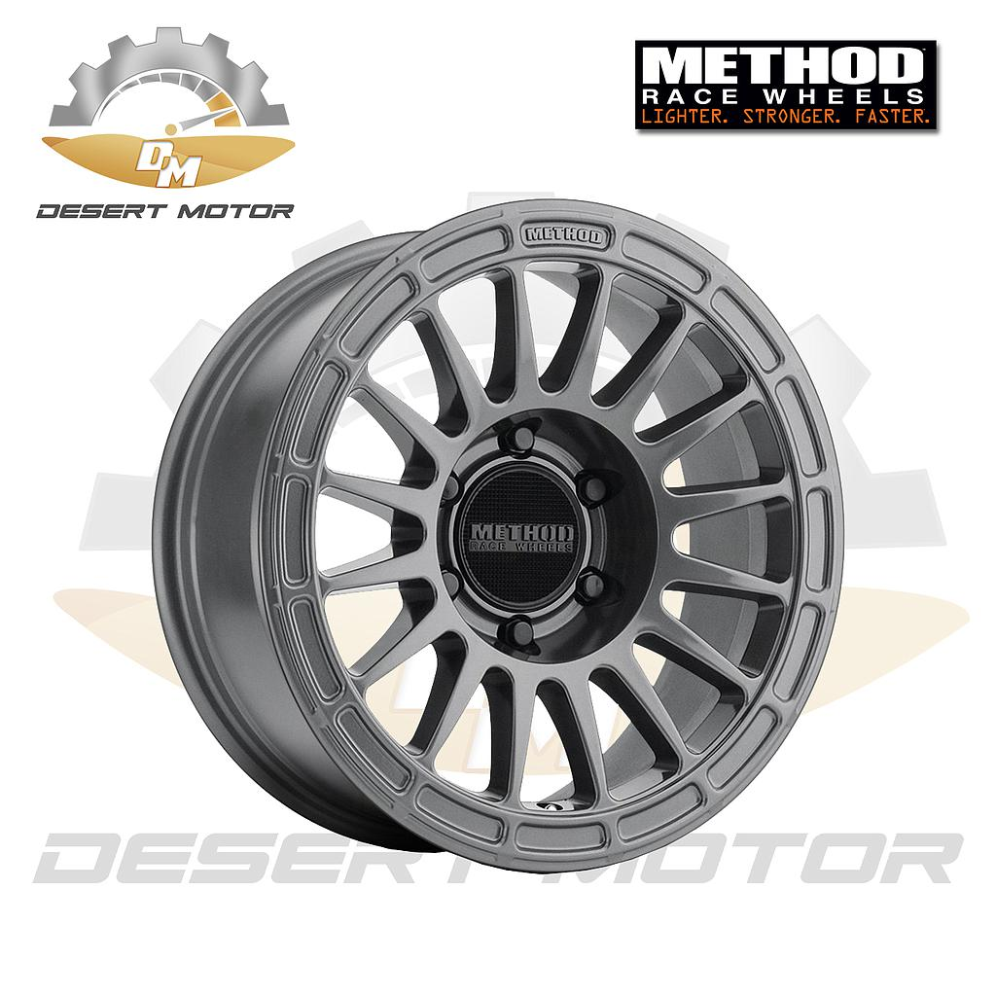 METHOD 314 GMC HD Titanium 17x7.5, 8x170