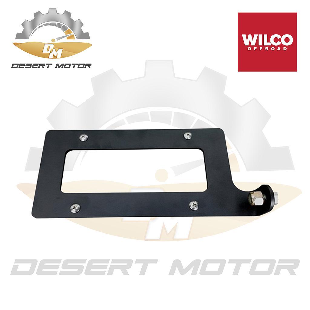 WILCO License plate