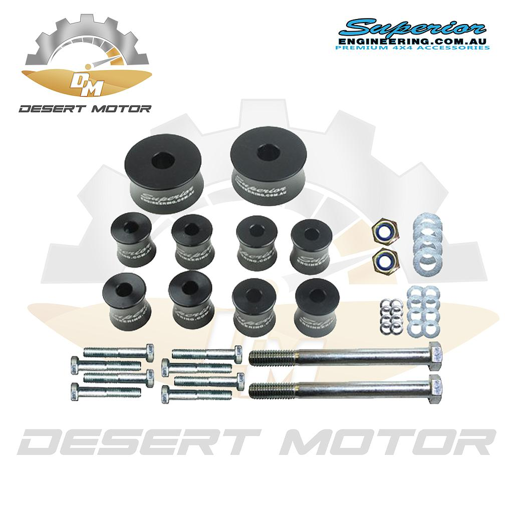 Diff drop Toyota Hilux