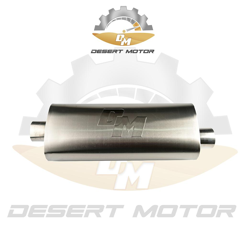 Triple muffler 4 inch