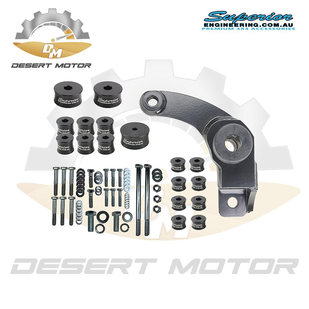 Diff drop Toyota LC200 40mm