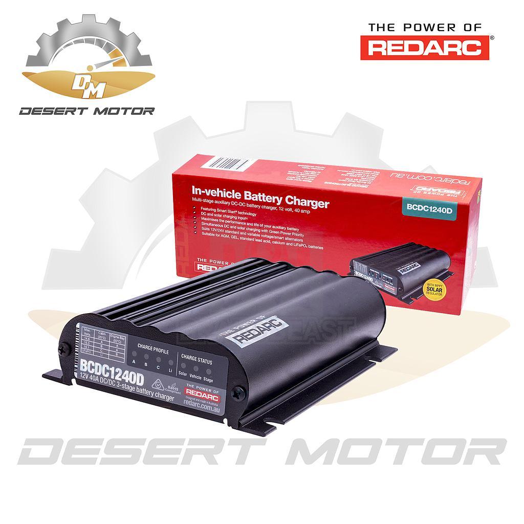 Redarc dual battery system smart 40A