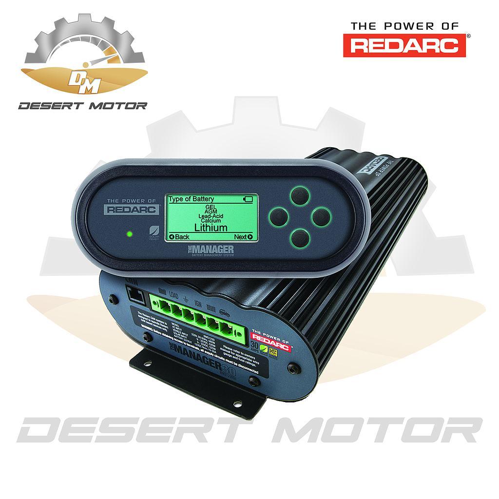 Redarc Dual Battery System Advance Manager 30
