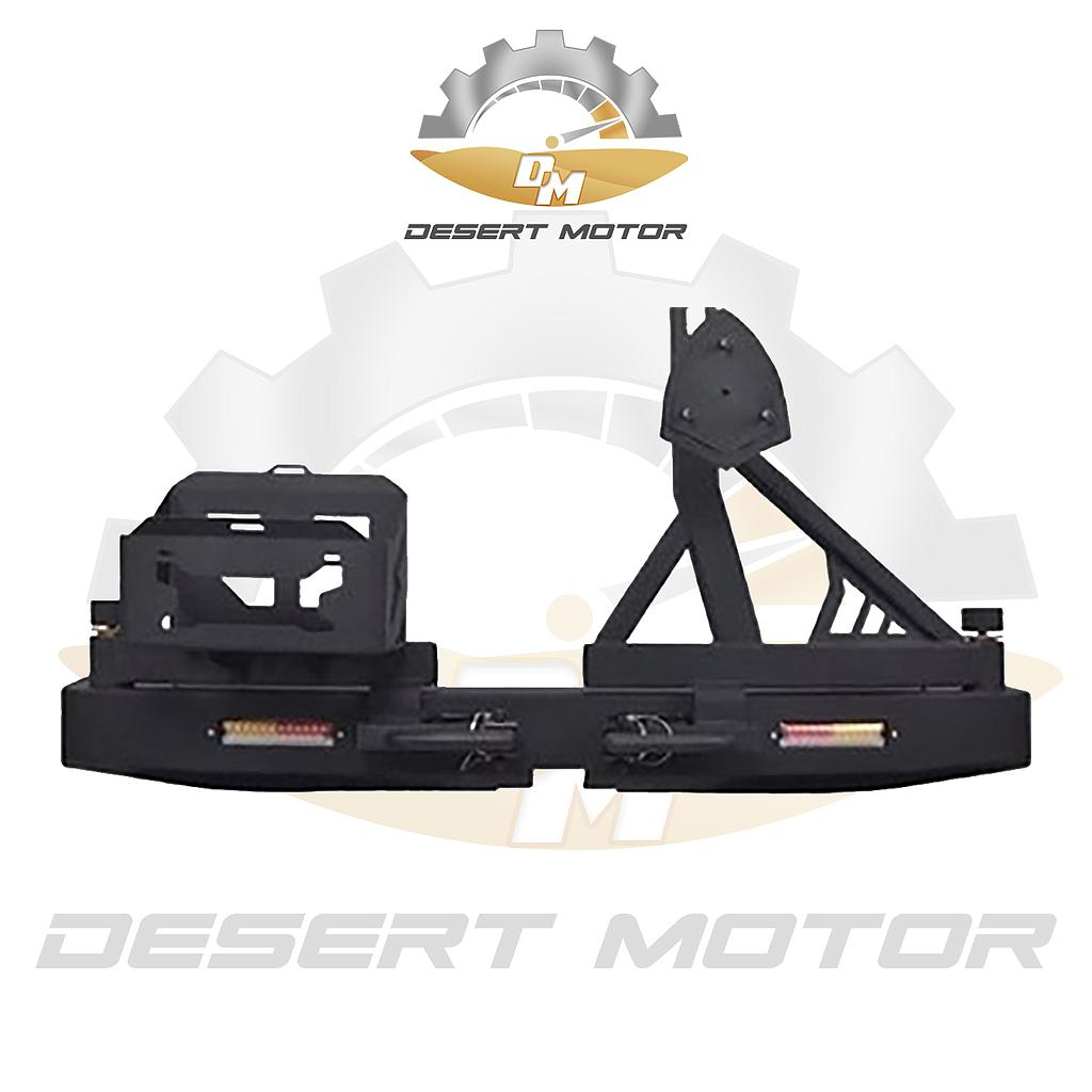 Unity Jimny 19+ rear bumper with tire spare and Jerry can