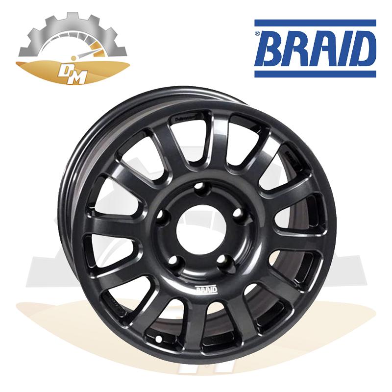 """BRAID DAKKAR Toyota  17"""" Gray New(piece)"""