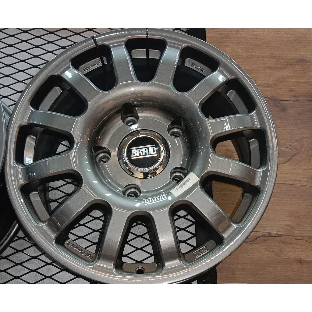 "BRAID DAKKAR Toyota  17"" Gray New"